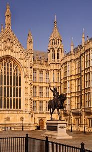Richard the Lionheart - Parliament - London