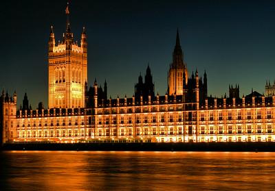 London - Parliament at Night