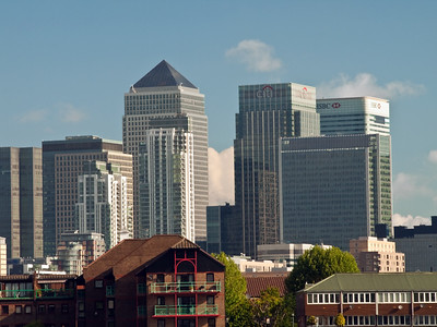 Docklands - From Greenwich Pier