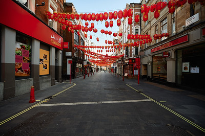 Chinatown on lockdown