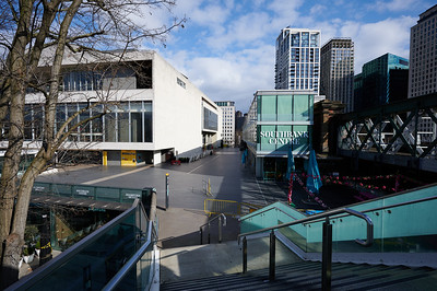 Southbank Centre...empty