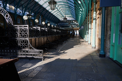 Covent Garden Hall, empty