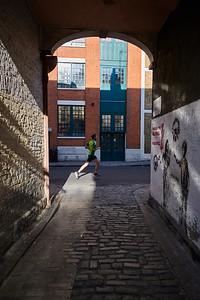 Running on Bermondsey Street