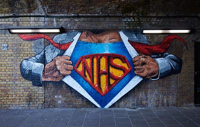 Tribute to NHS Superheroes