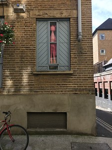 Pink Panther Window, Rotherhithe