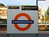 Journeys end Kensington Olympia plat 1