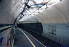 Aldwych Platform looking towards Holburn the branch was less than a 1/4 of a mile if that the run only took 2 mins to Holburn where you got off walked through a tunnel onto the main piccadilly line platform