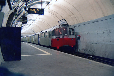 shot taken from a lower perspective of the service train