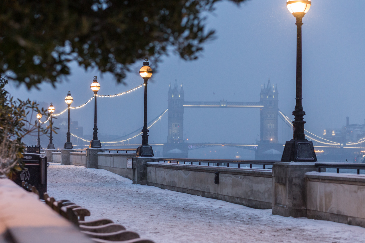 Tower Bridge in Winter