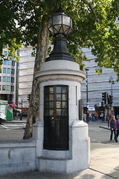 Smallest Police Station, Trafalgar Square