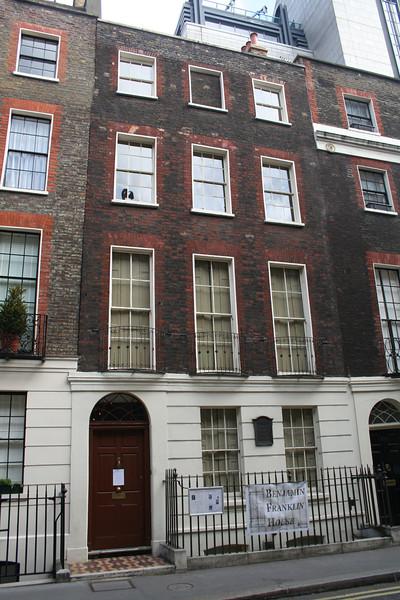 Benjamin Franklin's House, Craven Street