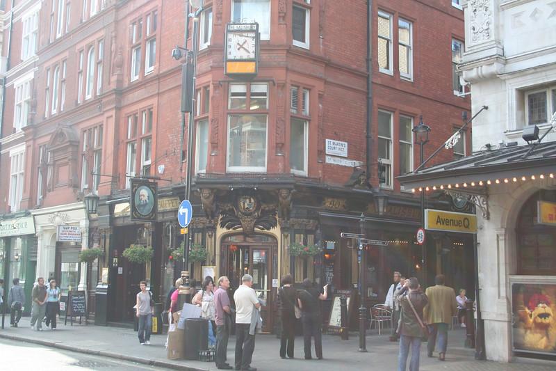 The Sailsbury pub