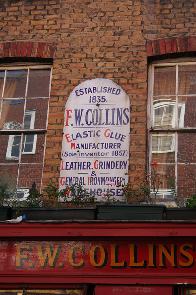 FW Collins shop on Earlham Street