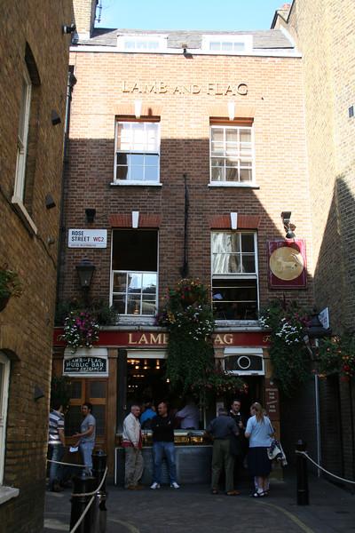 The Lamb and Flag pub