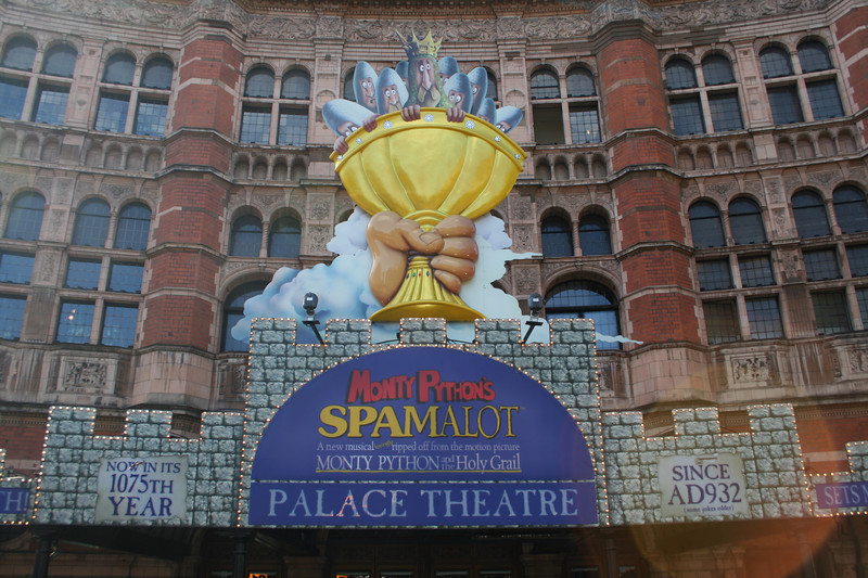 Spamalot at the Palace Theatre
