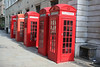 Telephone Boxes on Broad Court