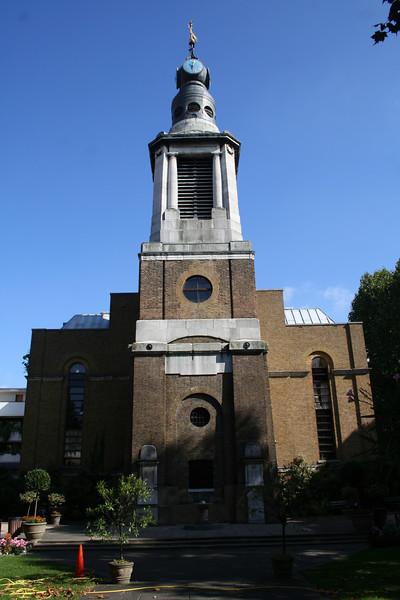 St Anne's church, Soho