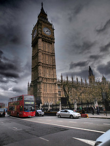 Clock Tower, Palace of Westminster. Big Ben is the nickname for the great bell of the clock at the north end of the Palace of Westminster in London, and often extended to refer to the clock and the clock tower, officially named the Elizabeth Tower, as well. Wikipedia. Photo: Martin Bager.