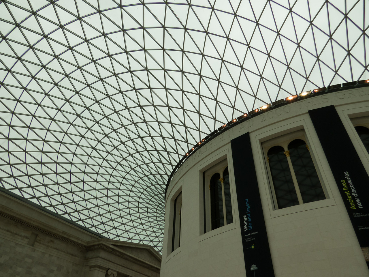Great Court roof
