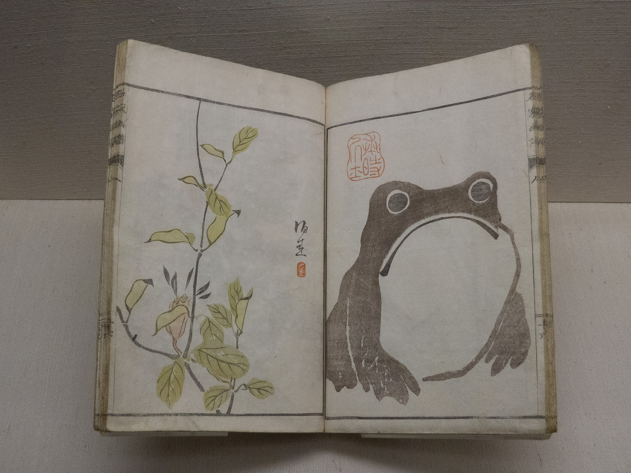 Frog by Matsumoto Hōji