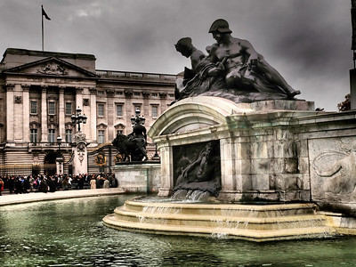 Buckingham Palace is the official London residence and principal workplace of the British monarch. Photo: Martin Bager.