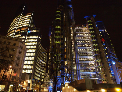 The Lloyd's building is the home of the insurance institution Lloyd's of London. Photo:Martin Bager.