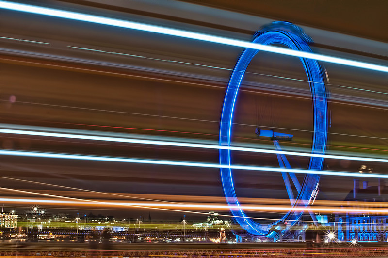 London Eye, Southbank, London.