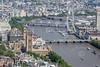 Aerial photo of The Palace of Westminster.