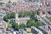 Aerial photo of St Luke's Church, Chelsea.