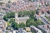 Aerial photo of St Luke's Church, Chelsea.