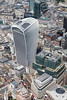 Aerial photo of 20 Fenchurch Street, London.