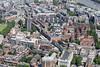 Aerial photo of Regency Street, London.