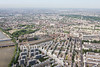 Aerial photo looking towards Fulham.