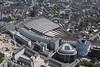 Aerial photo of Waterloo Station.