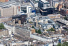 Aerial photo of Pimlico in London.