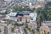 Aerial photo of Stamford Bridge