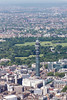 Aerial photo of the BT Tower.