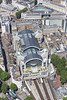 Aerial photo of Charing Cross Station.