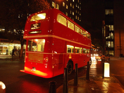 London Buses manages one of the largest bus networks in the world. Approximately 7,500 iconic red buses carry more than six million passengers each weekday on a network serving all parts of Greater London.  Photo: Martin Bager.