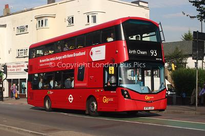 WHV108, BT65JGV, London General