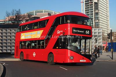 LT686, LTZ1686, London Central (T/A London General Transport Services)