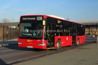 MEC27, BF59NHJ, London Central (T/A London General)