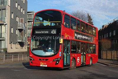 WHV8, LJ61GXF, London Central (T/A London General)