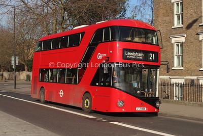 LT868, LTZ1868, London Central (T/A London General)