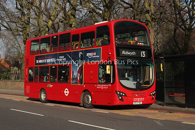VH22, BT13YWU, London Sovereign
