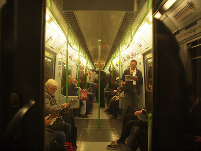 The London Underground. Photo: Martin Bager.