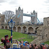 Beefeater Bill Callaghan Leads Tour at Tower of London