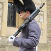 Guard at Hampton Court Palace