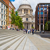 St Paul's Cathedral, London, is an Anglican cathedral, the seat of the Bishop of London and the mother church of the Diocese of London. It sits on Ludgate Hill at the highest point of the City of London.