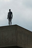 Gormley statue on Queen Elizabeth Hall